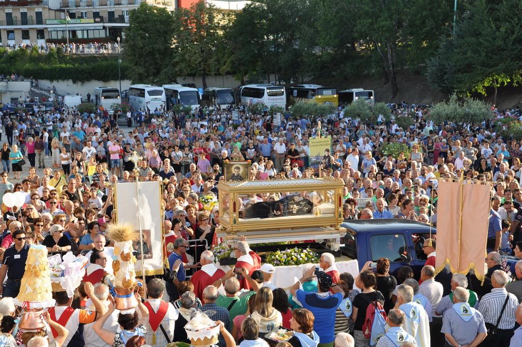 Festa popolare di San Gabriele nel segno della preghiera per i terremotati