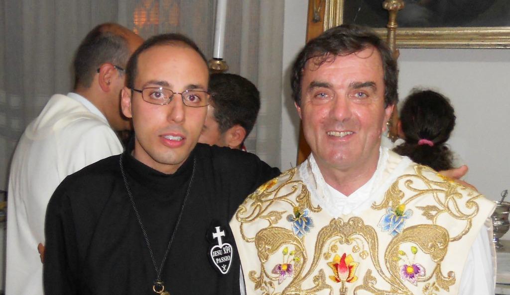 Professione perpetua di Fratel Gaetano Vitale