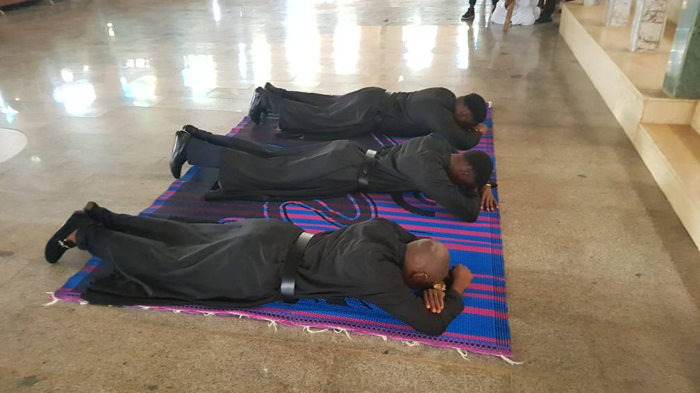 Prima Professione Religiosa dei novizi in Nigeria