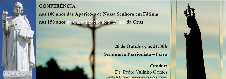 Conferenza su San Paolo della Croce in Portogallo