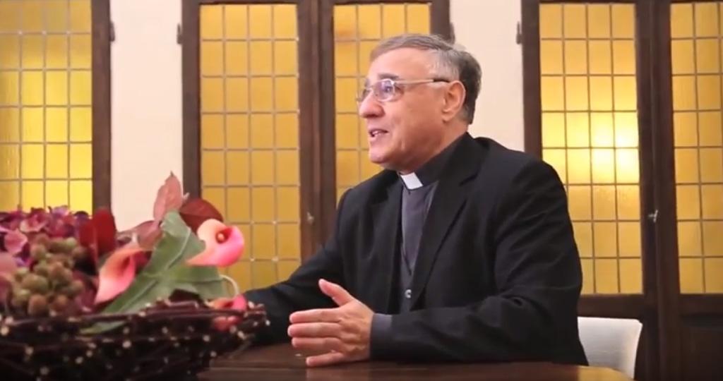 Padre Ciro Benedettini consigliere d'ambasciata presso la Santa Sede