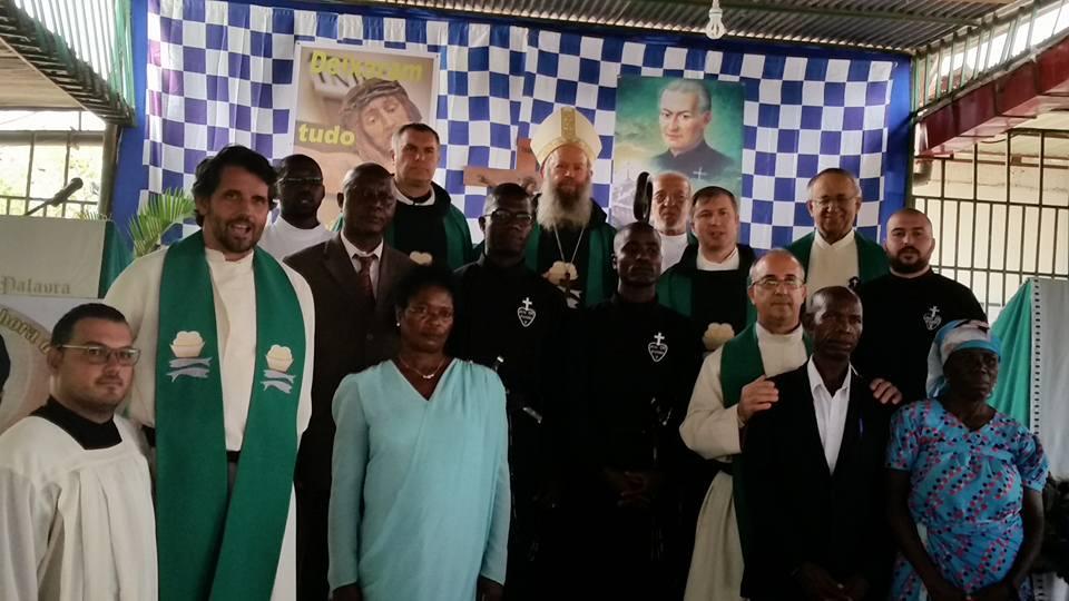 Prima Professione Religiosa dei novizi in Angola