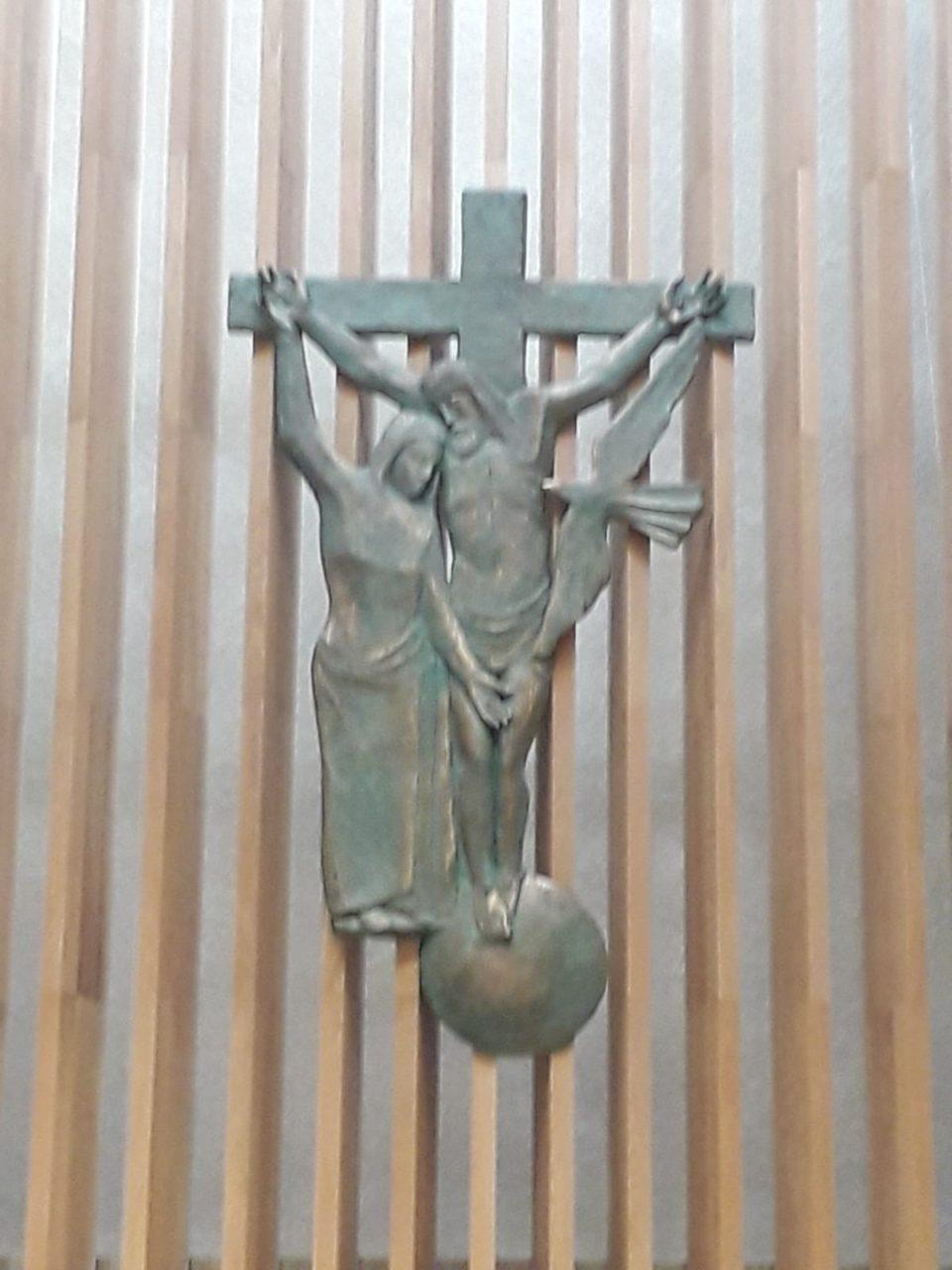Inaugurazione Crocifisso a Borgonovo (VR)
