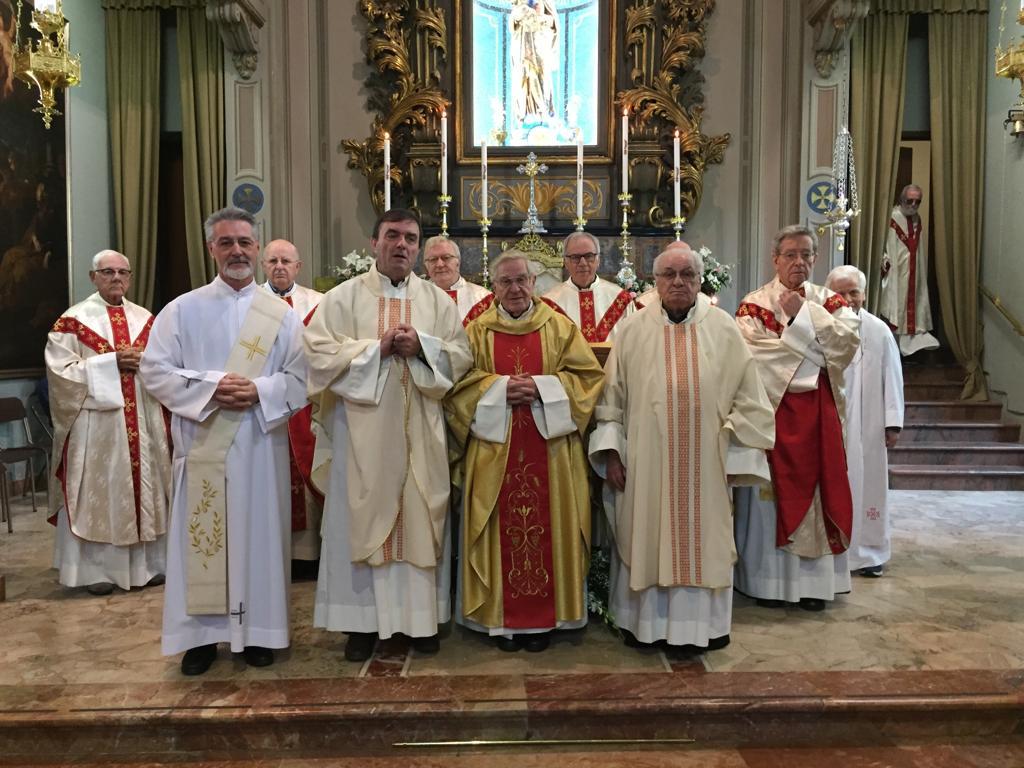 60° di ordinazione sacerdotale di Padre Felice Milani e Padre Corrado Valvo