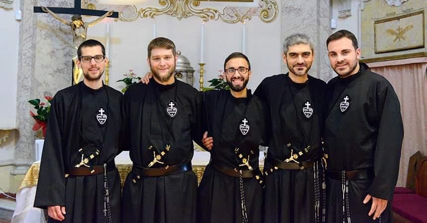 Professione religiosa dei novizi passionisti